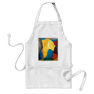 The Influx of Yellow Glacier(abstract landscape) Adult Apron