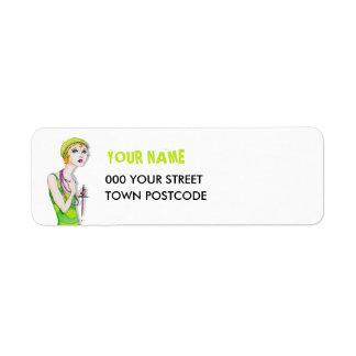 The Ingenue Return Address Label