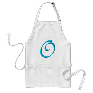 The Initial O Adult Apron