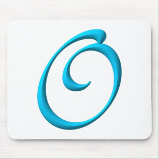 The Initial O Mouse Pad