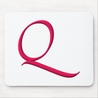 The Initial Q Mouse Pad