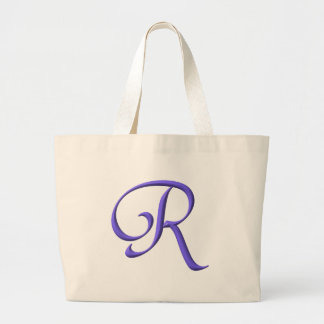 The Initial R Large Tote Bag