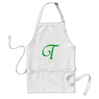The Initial T Adult Apron