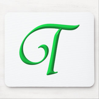 The Initial T Mouse Pad