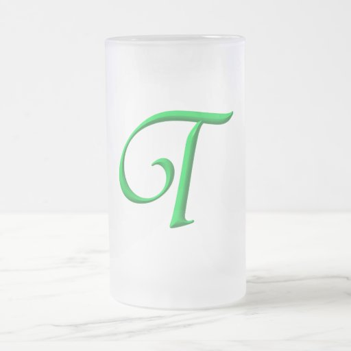 The Initial T Mug