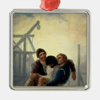 The Injured Mason, 1786-7 Metal Ornament