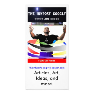 The InkPost Googly Ad Card