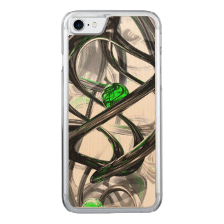 The Inkwell Abstract Carved iPhone 7 Case