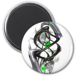 The Inkwell Abstract Magnet