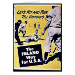 The Inland Way For U.S.A Greeting Cards