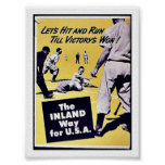 The Inland Way For U.S.A Posters
