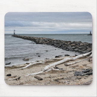 The Inlet at Lake Montauk Point Mouse Pad