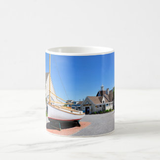 The Inlet  Village at Montauk Point Coffee Mug