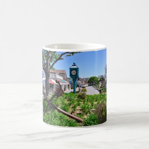 The Inlet Village at Montauk Point Coffee Mug