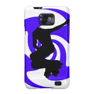 THE INLINE BLUE GALAXY S2 COVER