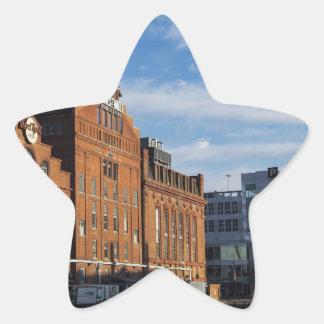 The Inner Harbor fo Baltimore Sticker