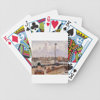 The Inner Harbor, Havre by Camille Pissarro Bicycle Playing Cards