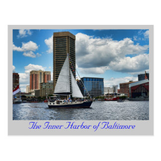 The Inner Harbor of Baltimore Postcards