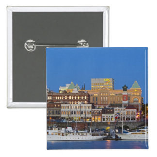 The inner harbour at Victoria British Columbia Buttons