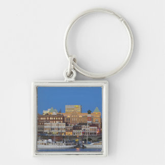 The inner harbour at Victoria British Columbia Keychain