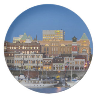 The inner harbour at Victoria British Columbia Party Plate
