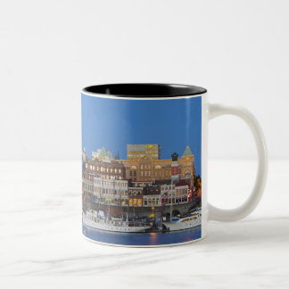The inner harbour at Victoria British Columbia Two-Tone Coffee Mug