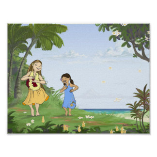 """The Inner Hula 11"""" x 8.5"""" Poster"""