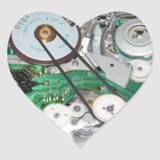 The Inner Workings of Your Heart Heart Sticker
