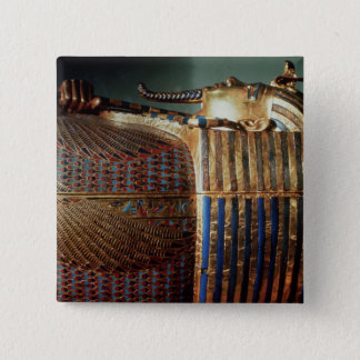 The innermost coffin of Tutankhamun Pinback Button