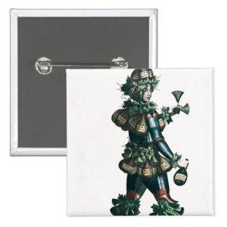 The Innkeeper, allegorical costume design Button
