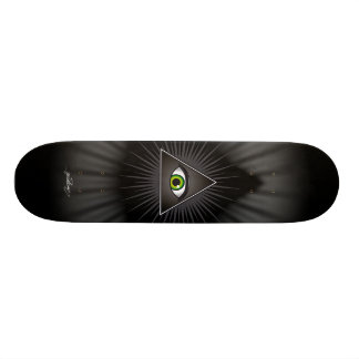 The Inquisitor Eye Skate Board Deck