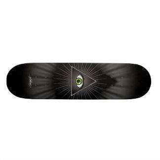 The Inquisitor Eye Skateboard Deck