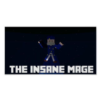 The Insane Mage Poster