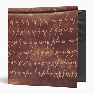 The Inscription from the sarcophagus of 3 Ring Binder
