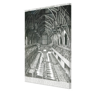 The Inside of Westminster Hall Canvas Print