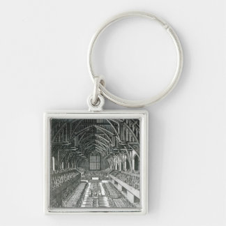 The Inside of Westminster Hall Keychain