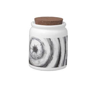 The Insomnia Penguin (odd surrealism) Candy Jar