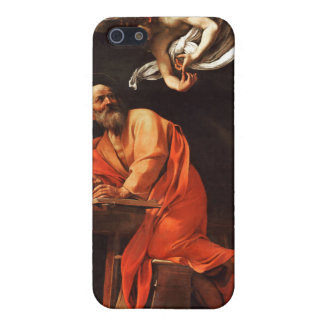 The Inspiration of Saint Matthew, Caravaggio Cover For iPhone SE/5/5s