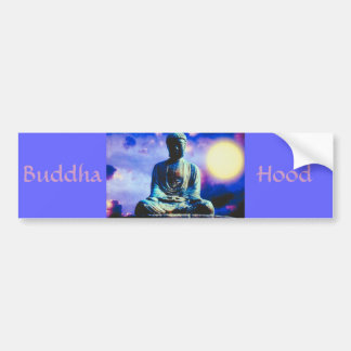 The Inspiring Buddha Car Bumper Sticker