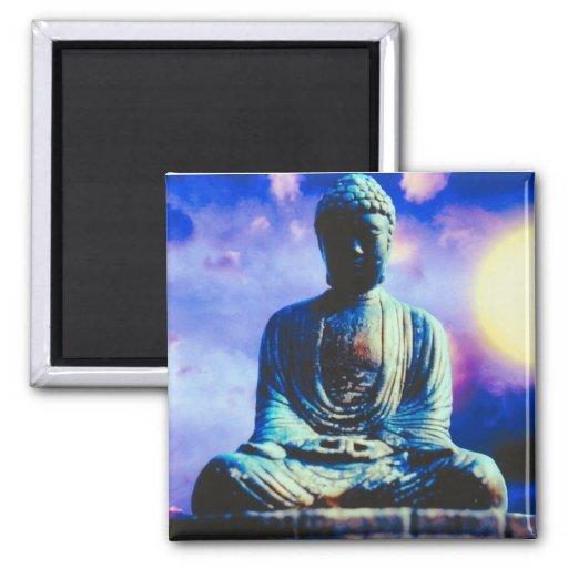 The Inspiring Buddha Fridge Magnets