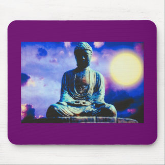 The Inspiring Buddha Mouse Pad
