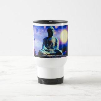 The Inspiring Buddha Travel Mug