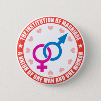 The Institution of Marriage Button
