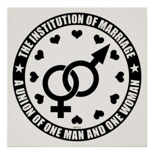 The Institution of Marriage Poster