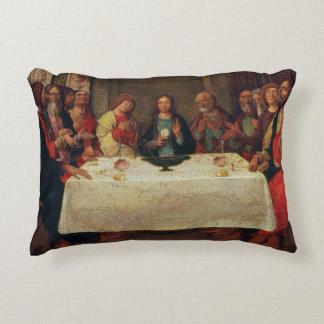 The Institution of the Eucharist, c.1490 Decorative Pillow
