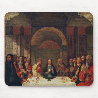 The Institution of the Eucharist, c.1490 Mouse Pad