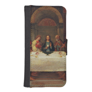 The Institution of the Eucharist c 1490 iPhone 5 Wallet Cases