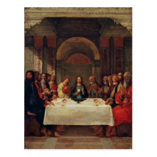 The Institution of the Eucharist, c.1490 Postcard
