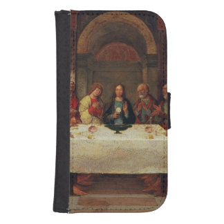 The Institution of the Eucharist, c.1490 Samsung S4 Wallet Case