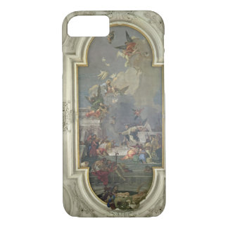 The Institution of the Rosary by St. Dominic (fres iPhone 7 Case